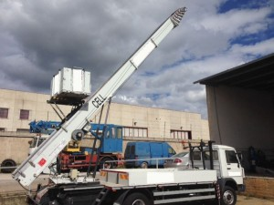 Scala per traslochi - PAUS 45 Mt - Disponibile per Esportazione