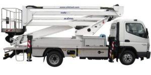 Snake 2815 Plus - Piattaforma aerea autocarrata su veicolo commerciale leggero