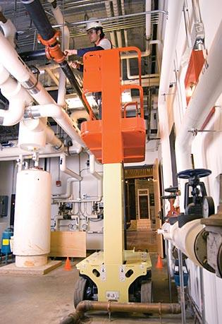 Sollevatore elettrico a colonna verticale 1230ES