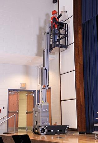 Sollevatori verticali mobili semoventi 15MVL