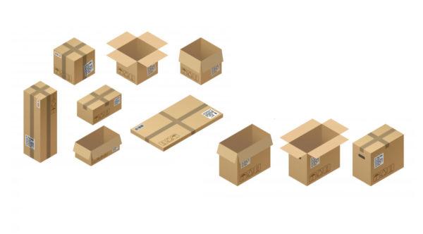 Scatole di cartone per ogni tipo di imballo